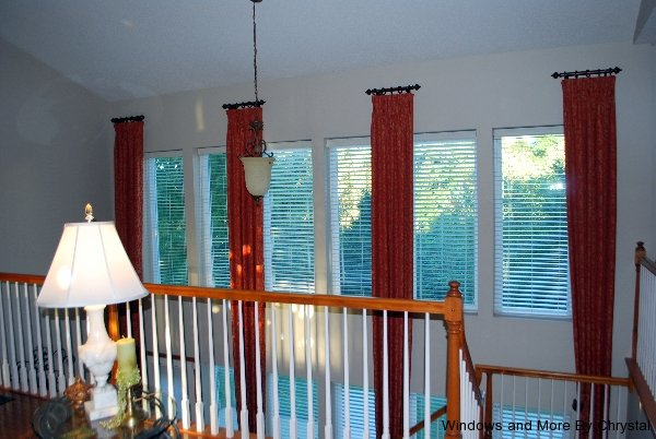 Long Pinch Pleat Drapes