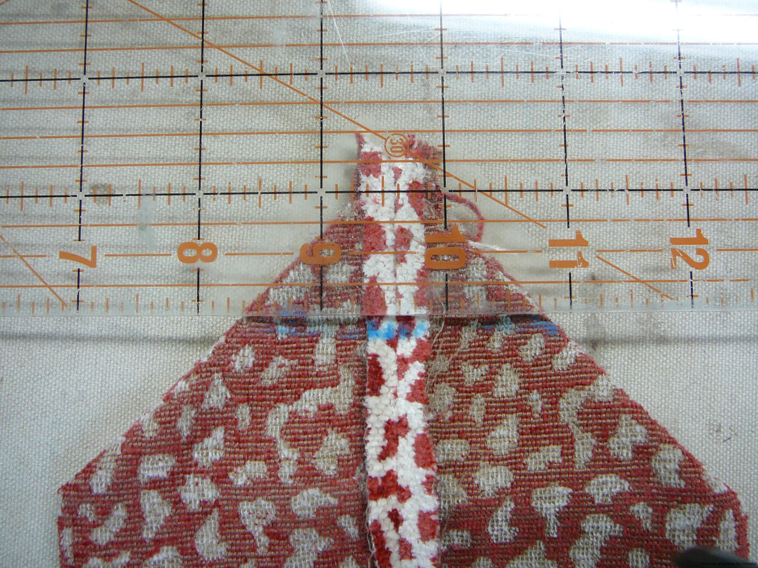 Making the gusset