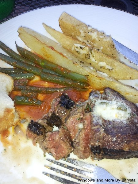 Aged Filet at Eros Eclectic Greek Taverna