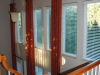 Atrium Window Panels with Rod and Rings