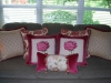 Group of coordinating pillows. Designed by JCR Design Group.