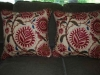 Large Floral pillows, designed by JCR Design Group