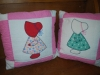 Bonnet Girl Quilt Pillows