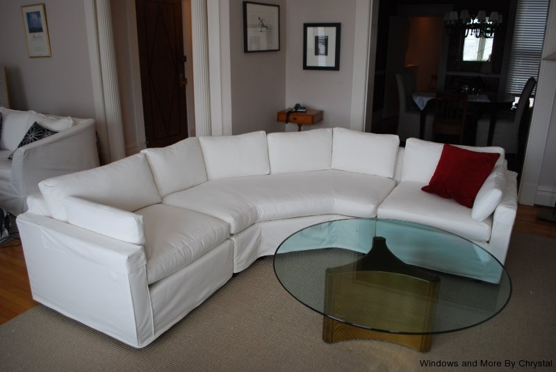 sectional-slipcover-with-no-skirt : sectional slipcovers - Sectionals, Sofas & Couches