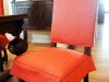 Dining Room Chair slipcovers with ties and skirts