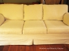 White Canvas Slipcovered Sofa