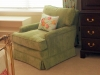 Upholstered Green Chair in a great fabric