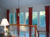 2 - Story Pinch Pleat Drapes on Short Rods