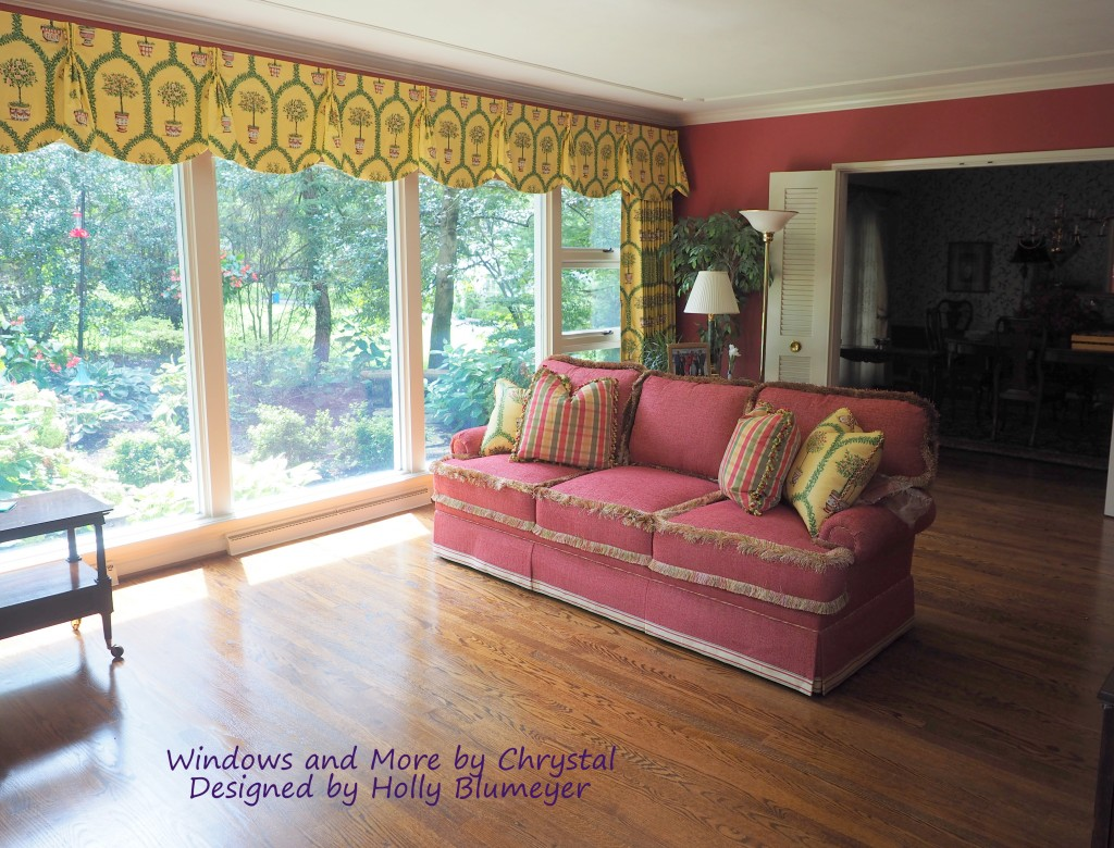 Queen Anne Valance and Panels