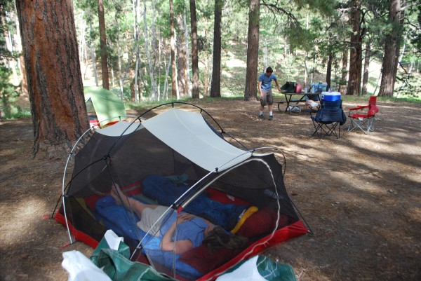Campground at the North Rim of the Grand Canyon