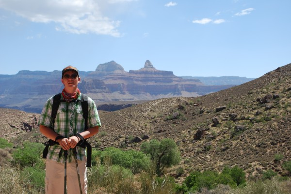 Bright Angel Trail in the Grand Canyon