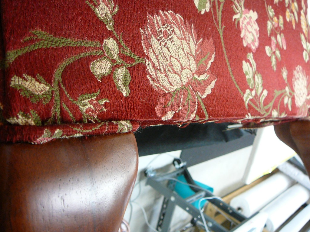 Bottom of Chair seat