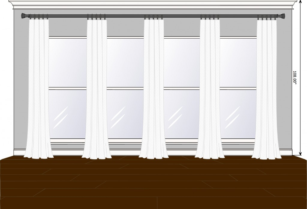 Family Room box pleat