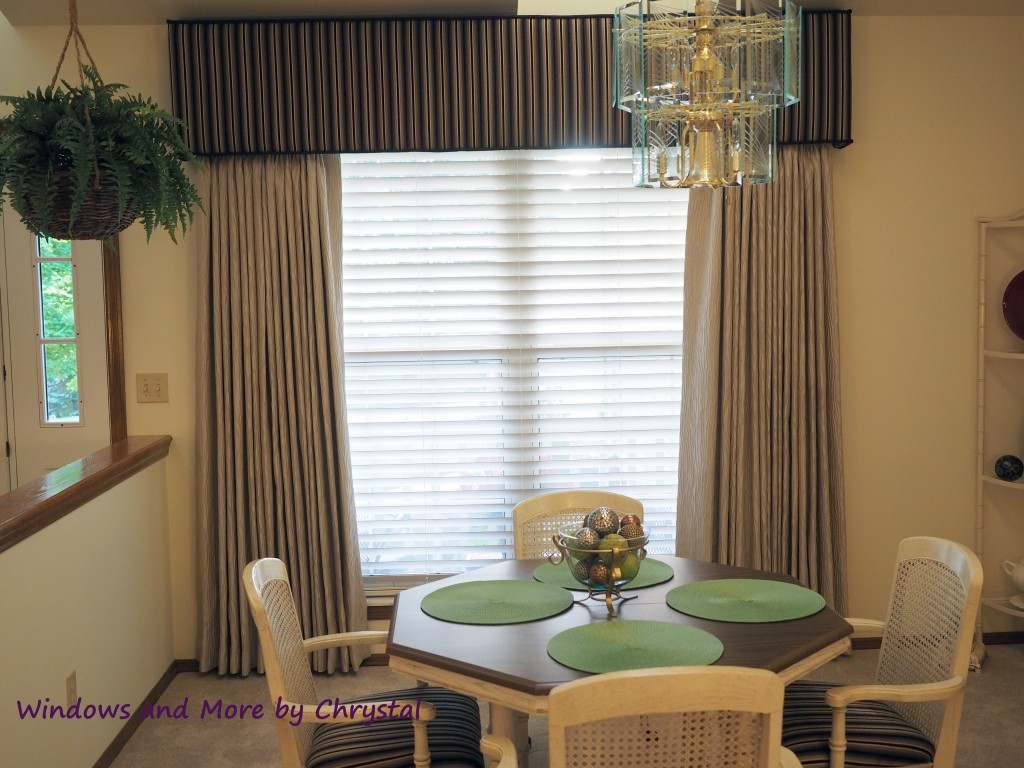 Cornice and Drapes