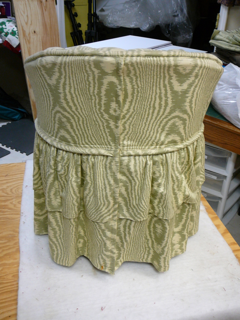 Slipcovered Vanity Chair