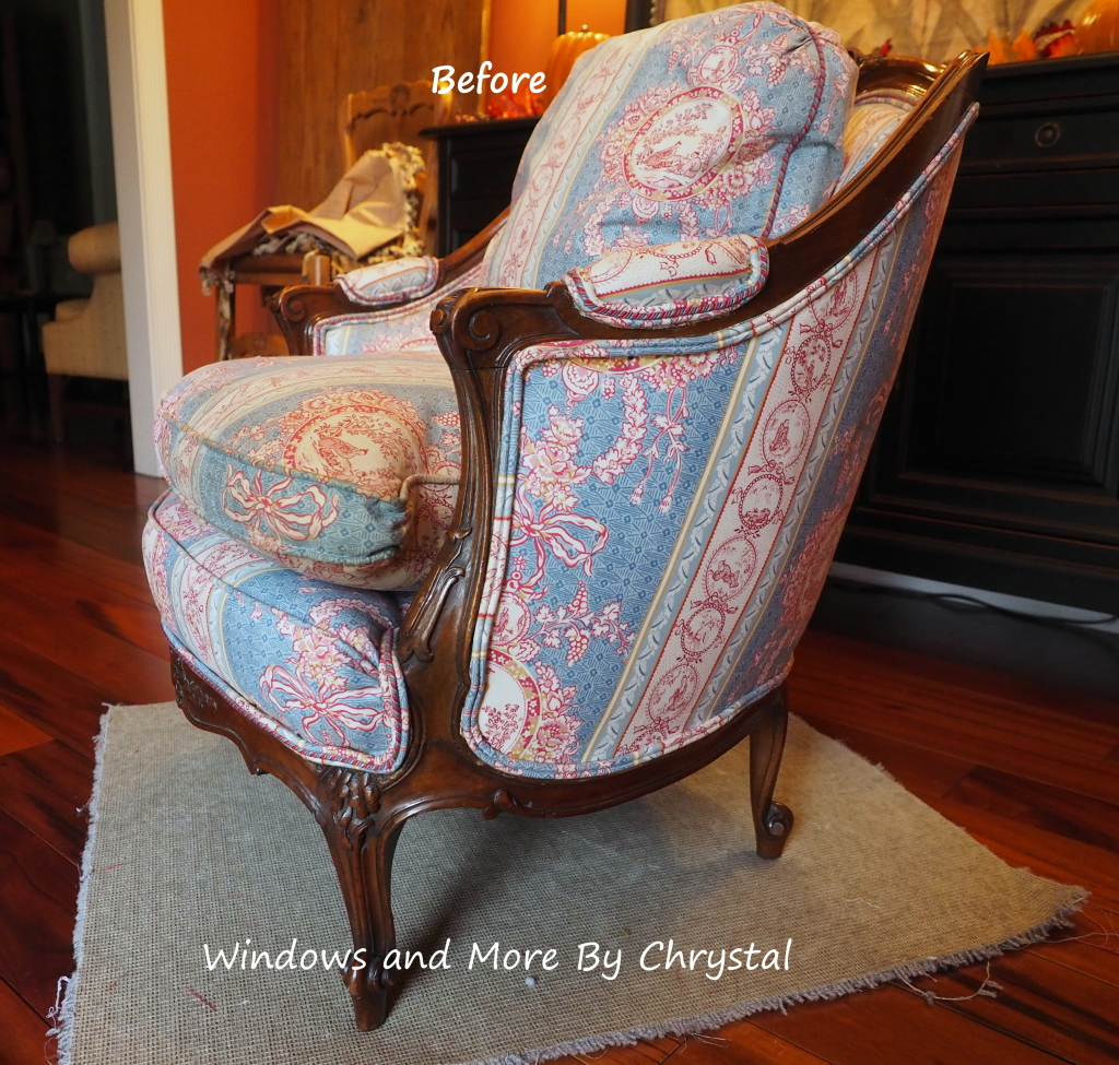 Before Slipcover chair