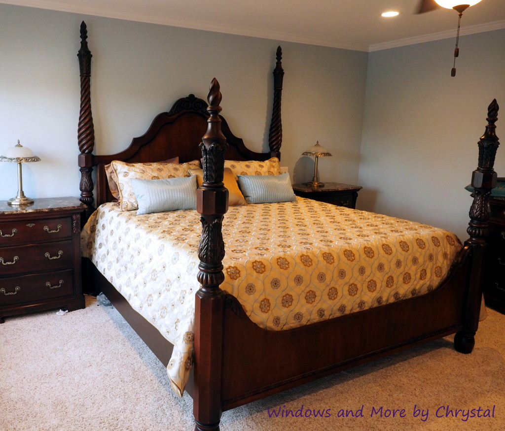 Pillows and King Coverlet