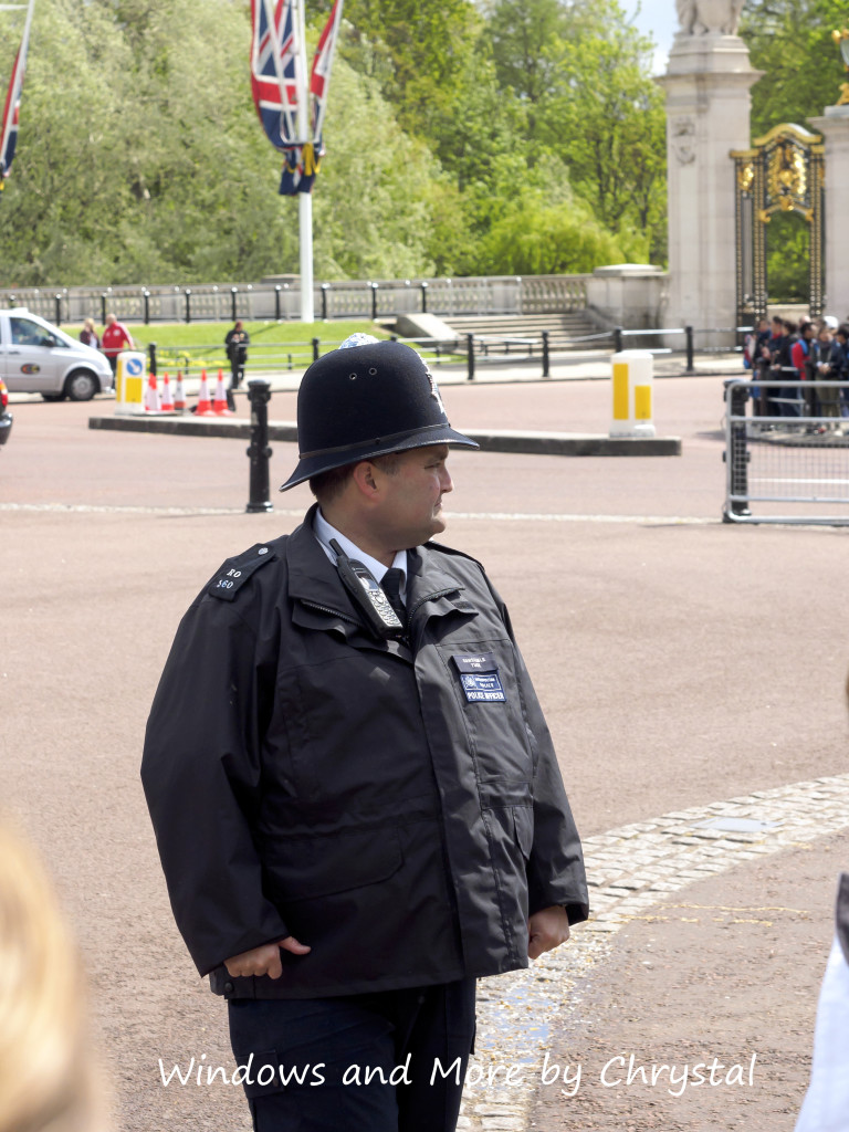 Constable Tuck at Buckingham Palace