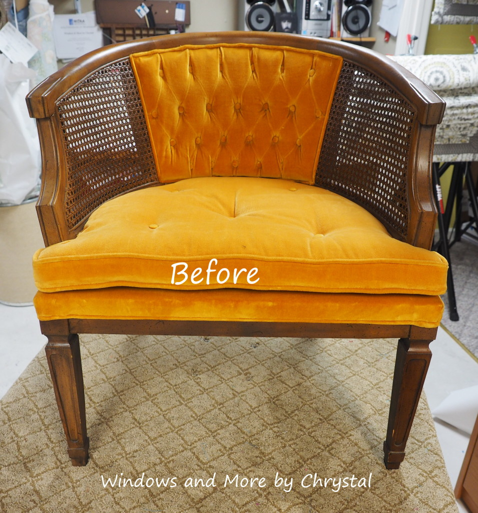 Before reupholstering
