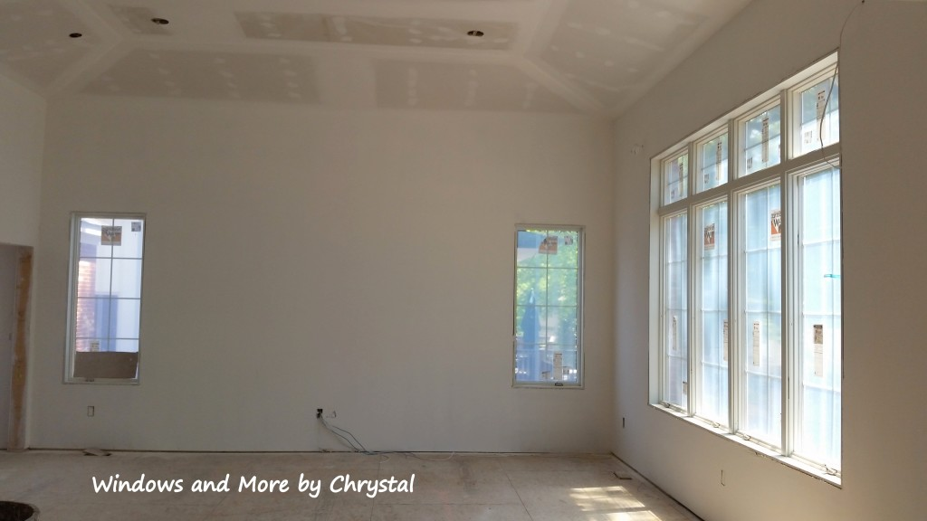 Family Room Drywall Stage